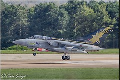 RAF Marham-2 (simon_x_george) Tags: gold star aviation military jet tornado raf panavia gr4 marham 31sqn