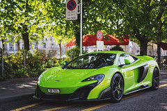 green, mean, long-tailed machine (Daniel 5tocker) Tags: green switzerland zurich exotic mclaren lime napier supercar longtail 675lt