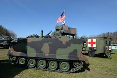 United Defense M901 Improved TOW vehicle (ITV) (albionphoto) Tags: usa lafayette jeep nj cadillac landrover tow willys oshkosh militaryvehicle m901 marshallofcambridge