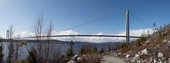 Bron (Panorama) (RobT4L) Tags: bridge canon sweden bro hgakusten hgakustenbron canon24105 canon7dmarkii canon7dmark2 skrstter