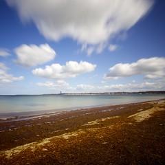 Kieler Frde (kuestenkind) Tags: beach strand ostsee kiel langzeitbelichtung longtimeexposure frde falckenstein