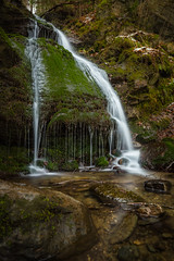 Small waterfall (michael.taferner) Tags: nature water canon eos angle forrest outdoor stones low nd 6d 1635f4