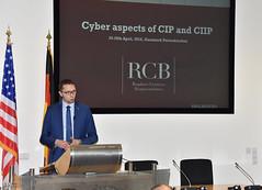 Chief Security Expert Discusses 'Understanding Cyber Components of Critical Infrastructure' (GCMCOnline) Tags: pcss georgecmarshalleuropeancenterforsecuritystudiesgcmc programoncybersecuritystudies adampolitowski governmentcentreforsecurityinwarsaw gcscoi
