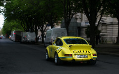 GALLIA. (misterokz) Tags: auto paris classic car photography tour 911 voiture exotic porsche 27 supercar spotting carrera carspotting rsr misterokz