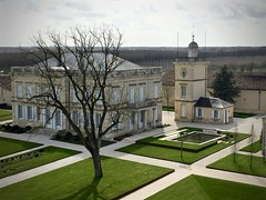 A view from above (kimbar/Thanks for 2.5 million views!) Tags: france fromabove winery medoc chateau stjulien chateaugruaudlarose