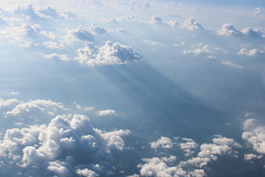 A heavenly view (L. DiLallo) Tags: sky clouds aerial cumulus