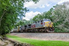 KCS 4598 (gameover340) Tags: train louisiana tracks freight kcs manifest ges kansascitysouthern ac44cw updequincysubdivision mldli