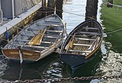Historic Wood Boats ... (sswj) Tags: historic woodboats rowboats oldwoodboats sandiegomaritimemuseum sandiego california dslr fullframe composition scottjohnson existinglight naturallight availablelight nikon d600 nikkor28300mm boats harbor oars raw