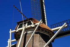 Steel blue (Harry Kool) Tags: blue sky color mill weather canon eos lucht medemblik wer molen herder steelblue westfriesland meelmolen