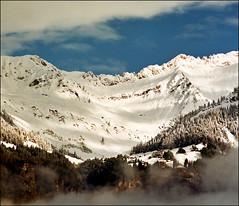 Alpine morning (Katarina 2353) Tags: autumn mountain snow alps film landscape switzerland nikon europe swiss katarinastefanovic katarina2353