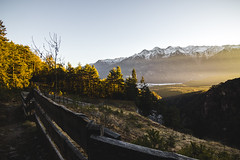 Hut with a perfect view (tomaszhsk) Tags: travel mountain mountains alps clouds forest landscape outdoors austria tirol sunny wideangle hike tokina adventure explore planetearth aov artofvisuals