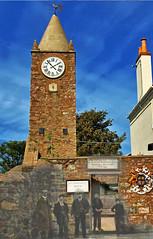 Ghosts of Alderney - Town clock circa 1905 (neilalderney123) Tags: history clock alderney neilhoward alderneyghosts