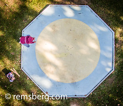 Boy Playing Marbles (Remsberg Photos) Tags: blue usa game fun maryland aerial leisure alta setup marbles awards tradition activity cumberland drone compete