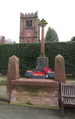 War Memorial Tarvin Cheshire IMG_4489 (rowchester) Tags: uk church canon cheshire powershot warmemorial standrew tarvin sx40 sx40hs