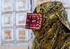 a bandari woman wearing the traditional mask called the burqa on a market, Hormozgan, Bandar Abbas, Iran (Eric Lafforgue) Tags: people woman horizontal outdoors gold golden persian clothing asia veil mask iran market muslim islam religion hijab persia headshot hidden covered iranian bazaar adults adultsonly oneperson islamic burqa ethnicity middleeastern persiangulf sunni bandarabbas burka chador 20sadult youngadultwoman balouch hormozgan onewomanonly burqua إيران иран embroidering 1people イラン irão straitofhormuz 伊朗 unrecognizableperson colourpicture 이란 borqe boregheh iran034i1973