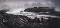 Svinafellsjokull (Neil Hamilton Photography (Getty Contributor)) Tags: panorama cloud mountain ice rock canon landscape iceland stitch glacier geology volcanic crevasse moraine leefilters