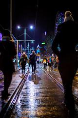Edinburgh New Year Street (HarveyNewman) Tags: street ferry night canon scotland colorful edinburgh time market fireworks outdoor mark iii scottish newyear celebration hogmanay scotish 2015