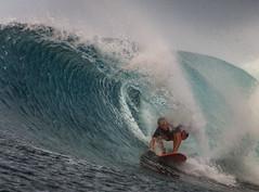 In the Barrel (Warriorwriter) Tags: blue water surf waves board surfing fsm watersports splash micronesia pohnpei palikir