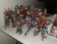 Dinobots! (Tumbler2) Tags: slag sludge swoop snarl grimlock planetx fallofcybertron planetxdinobots