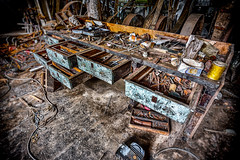 Workshop (leroysfotos) Tags: mill abandoned lost mhle lp urbex getreide lostplaces lostplace
