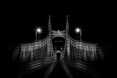 Gesher, lailah (Noval Goya) Tags: city bridge blackandwhite night 35mm buildings photography town nikon europe hungary shot capital budapest full architect frame fullframe nikkor fx duna goya danube d800 lailah noval gesher studioin novalgoya novalchaos