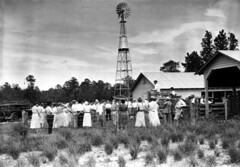 County agent giving an agricultural demonstration - Florida (State Library and Archives of Florida) Tags: florida universityofflorida windmills agriculture demonstrations agriculturalexperimentstation