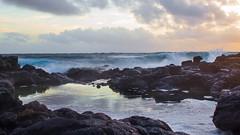 #makapuu (rchard808) Tags: ocean morning blue sun beach water sunrise hawaii oahu makapuu