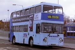 VFM BUSES ( NORTHERN ) 3555 MBR455T (bobbyblack51) Tags: buses 1995 northern eastern heworth leyland ecw vfm atlantean 3555 coachworks mbr455t
