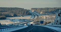 Highway One (Basse911) Tags: winter suomi finland highwayone vinter motorway january nordic talvi januari tammikuu moottoritie ykkstie valtatie1 nationalroadone