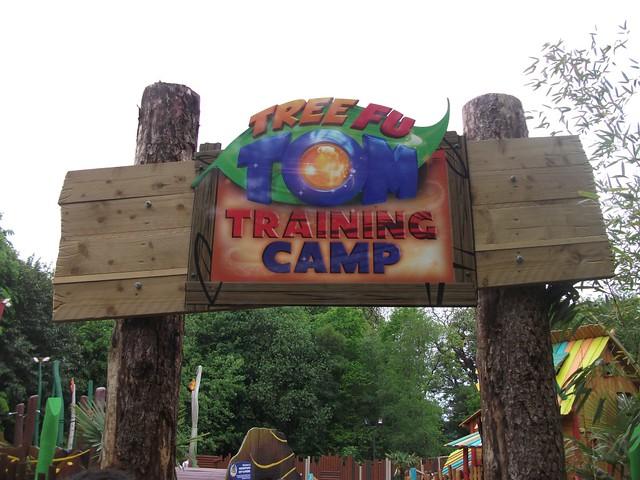 Tree Fu Tom Training Camp - Entrance