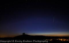 Corfe castle pre-sunrise (Emily_Endean_Photography) Tags: castle night sunrise stars landscape countryside nikon ruins nightscape country dorset astronomy nightsky dslr corfe d7200
