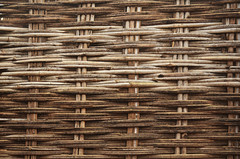 Wattle. (Gattam Pattam) Tags: india house reed architecture rural fence pattern bamboo chhattisgarh