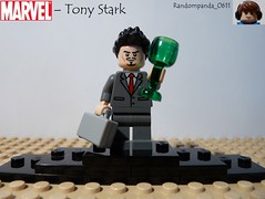 Tony Stark (randompanda_0611) Tags: man comics iron comic lego fig books super hero figure superhero heroes minifig minifigs superheroes marvel stark figures figs avengers minifigure minifigures