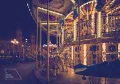 carousel (Miguel A. Garc) Tags: nightphotography spain wideangle carousel sansebastian euskadi tiovivo nikond600 nikkor1424 ultrawidephotography