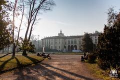 Palazzo Dugnani (andrea.prave) Tags: milan fountain garden milano brunnen fuente jardin palace palazzo fontana fontaine garten  giardino jardn miln mailand        giardinipubblici  indromontanelli  dugnani