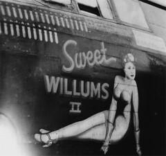 Nose art of A-20 Sweet Willums II (International Historical Research Associates) Tags: wwii worldwarii ww2 noseart worldwar2 a20 312thbombgroup
