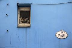 calle eladio verde 2 (fertraban) Tags: blue window azul ventana casa calle gijn asturias fachada cimadevilla abandono decadencia xixn cimavilla eladioverde