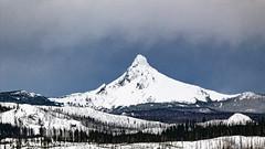 Washington in Winter (rowjimmy76) Tags: winter sky snow weather oregon forest washington central peak overcast deschutes mount national pacificnorthwest pnw cascademountains