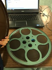 Processing the Kiste Papers (biped_808) Tags: film processing 16mm filmreel specialcollections myeverydaylife libslibs librariesandlibrarians archiving librarystudies librarylife