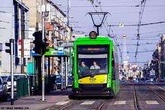 Solaris Tramino S105p #539 (ukasz Janowicz) Tags: tram solaris pozna tramwaj 539 gogowska mpkpozna tramino linia5 s105p