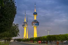 Kuwait Towers (Mohammadtaqi.com) Tags: day towers australia celebration kuwait
