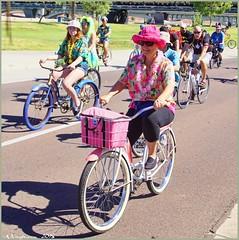 4311 (AJVaughn.com) Tags: park new arizona people beach beer colors bike bicycle sport alan brewing de james tour belgium bright cosplay outdoor fat parade bicycles vehicle athlete vaughn tempe 2014 custome ajvaughn