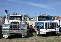 Tippers (quarterdeck888) Tags: nikon flickr transport frosty international lorry trucks freight ack tractortrailer semitrailer overtheroad haulage quarterdeck class8 roadtransport heavyhaulage d7100 truckphotos expressfreight longwarry australianroadtransport roadfreight jerilderietruckphotos jerilderietrucks heritagetrucks australiantruckphotos longwarrytruckshow vintagetruckdisplay truckheritage