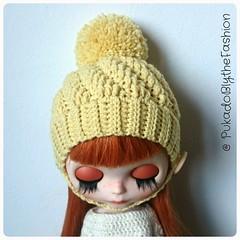 Blythe Hat Swirl Www.etsy.com/shop/PukadoBlytheFashion  #Blythe #hat #etsy #blythedoll #customblythe #blythehat (pukadoblythefashion) Tags: hat blythe etsy blythedoll customblythe blythehat