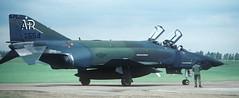 RF-4C, AR 68-554, 1 TRS, Alconbury AFB, (Anne Fintelman) Tags: rf4c 10trw 1trs 1tacticalreconnaissancesquadron alconburyafb ar68554