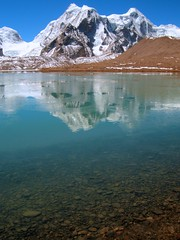 Gurudongmar Lake..... serene and divine (pallab seth) Tags: travel sky india mountain lake snow cold tourism nature beautiful beauty vertical digital wonderful landscape religious nikon asia tour place wind peak buddhism tibet divine stunning coolpix hinduism sikkim p3 prayerstone northsikkim nikoncoolpixp3 nikonp3 tibetianplateau gurudongmar gurudongmarlake pallabseth highestfreshwaterlakes
