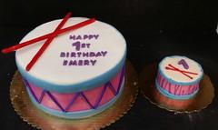 Drum Cake (dragosisters) Tags: cake drum drumsticks smashcake
