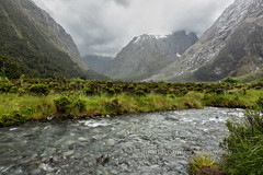 Let The Deluge Begin (chasingthelight10) Tags: travel newzealand storm mountains nature photography landscapes countryside waterfall events places things waterfalls milfordsound fjords stormclouds fjordlandsnationalpark streamsbrooks