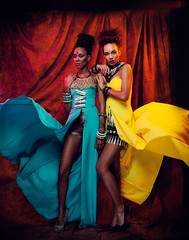 African Queen (RichardTerborg) Tags: africa girls black color fashion african models style queen prints mode styling blackgirls blackfashion