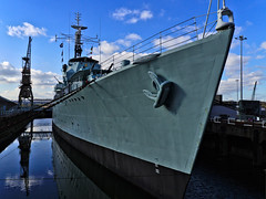 HMS Cavalier (R73) C-Class Destroyer (MySimplePhotosToday) Tags: uk england water museum kent dock ship unitedkingdom outdoor navy historic destroyer chatham ww2 british southeast naval warship hms dockyard cclass royalnavy historicdockyard chathamdockyard hmscavalier museumship r73 museumvessel